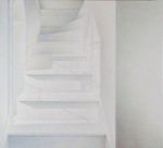 Tower Stairs, 2014, 82 cm x 90 cm, acrylic on panel