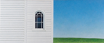 Prairie Church, 2014, 50 cm x 120 cm, acrylic on panel