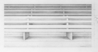 Seats 22 - 23, 2015, 30 x 60 cm, graphite on Stonehenge paper