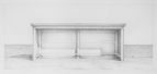 Visitors, 2015, 24 x 54 cm, graphite on Stonehenge paper