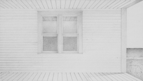 The Captain's House, 2011, 37 x 76 cm, graphite on Stonehenge paper
