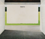 Tickets, 2007, 117 x 138 cm, acrylic on panel